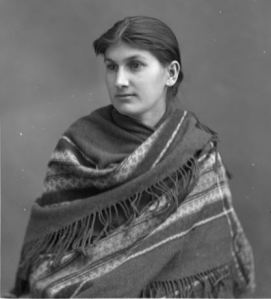 Métis Woman In 1886